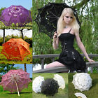 Multi-colors&sets Choice Lace Parasol/Umbrella & Hand Fan for wedding / cosplay