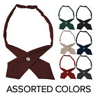 Girls Adjustable Cross Ties French Toast School Uniform  Assorted Colors