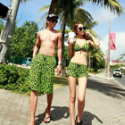 Women's/Men's Boardshorts Board Shorts Sports Beach Swim Pants Sexy Bikini Set