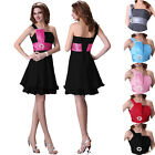 Ladies Sexy Evening Bridesmaids Wedding Prom Ball Short Gowns Cocktail Dresses