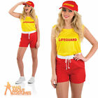 Adult Female Lifeguard Costume Beach Patrol Womens Ladies Fancy Dress Outfit