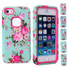 Vintage Floral Retro Style Phone Skin Case Cover Shell Back For Apple iPhone 5C
