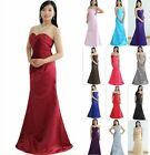 STOCK New Bridesmaid Wedding Gown Prom Ball Evening Dress Size6-8-10-12-14-16-18