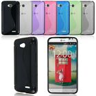 New Soft Sexy S-line Wave Gel TPU Rubber Case Cover Skin For LG Optimus L70 D325