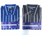 Men 100% Brushed Cotton Night Shirt Nightshirt Nightshirts - 4 Sizes, 2 Colours