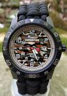 NEW! Timex Expedition Camo Watch with Handmade Paracord 550 Watch Band