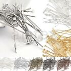 30g About 100-450x Plated Silver Gold Head Pins Ball Pins Craft 21 Gauge 14-70mm