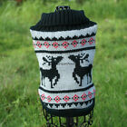 NEW DOG Sweater Pet Sweater X'mas Jumper For Small Dogs Only Sz XS S M L XL XXL