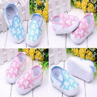 Toddler Baby girl Skull Heads Soft Sole Crib Shoes Size3-6 6-9 9-12months