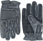 Viper Tactical Black Leather Padded Gloves -  Police Security SAS SWAT Army