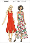 Very Easy Vogue 8994 Long Flared Summer Sun Dress Sewing Pattern V8994