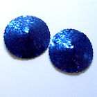 BURLESQUE Sequin Nipple Covers Pasties - Royal Blue