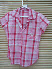 CYBERJAMMIES pink CHECK PJ TOP RRP £22.50