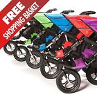 Out N About Nipper 360 Double Buggy / Pram / Pushchair V4 Inc Raincover