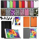 Ultra Slim Smart Leather Stand Cover Case Bundles For Samsung Galaxy Tab S 8.4""