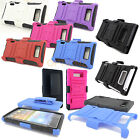 3in1 Rugged Combo Case Holster Belt Clip Cover for LG Optimus Showtime L86C L86G