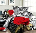 8 PIECE 3D KING SIZE, COMFORTER+FITTED+FLAT SHEET+DUVET COVER+4 PILLOWCASES