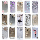 Bling 3D Handmade Protector Clear Crystal Case Cover Skin for Apple iPhone 5 5S