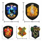 Harry Potter School Crest Iron on Patch Badge Embroidered Hogwarts Motif Badge
