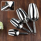 1pc Stainless Steel Ice Scoop Food Ice Candy Bar Commercial Baking Kitchen Tool
