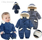 Baby  Winter  Snowsuit & Sleeping Bag, Dark Blue / Grey, Quality & Soft 0000/000