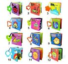 Cognize Book Education Toy Cloth Book Intelligence Development Baby Kids Books $7.99 USD