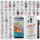 For Kyocera Hydro Icon C6730 Cute Design PATTERN HARD Case Cover Phone + Pen