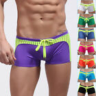 Classic Men's Swimming Shorts Boxer Briefs Tie Rope Trunks Bikini Pants Swimwear
