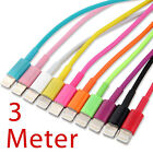 3 Meter Extra Long USB Data Sync Charger Cable for iPod iPhone 5 iPad Mini 4