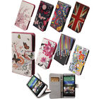 FL Watercolor Flip Leather PU Wallet Stand Case Cover for HTC One 2 M8