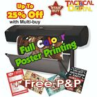 A1 Full Colour Poster Printing High Quality Print - Gloss or Satin 200gsm paper