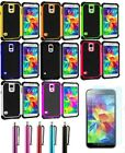 Plastic Dual-layer Protection Cover Case For Samsung Galaxy S5 V i9600 + GIFT