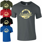 BEST GRANDAD EVER T-SHIRT - NOVELTY FATHERS DAY GIFT PRESENT MENS TOP
