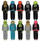 KIDS UNIVERSITY TRACKSUIT HOODED TOP JOGGING BOTTOMS GIRL BOYS 2 PIECE SUIT 1-16