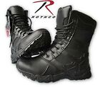 "Tactical 8"" Boots Black Police Swat Boots Military Combat Boots Security Us5-13"