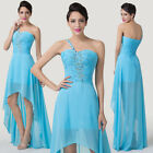 Glam ONE Strap Houri Bridesmaid Formal Prom Ball Party Evening Cocktail Dress GK