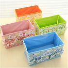 1/5 Pcs Fashion Folding  Cosmetic Storage Box Container Bag Make Up Case