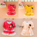 Toddlers Baby Girls Princess Party Tops Coat Kids Casual Clothes Spring Autumn