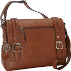 Relic Bleeker Messenger 3 Colors Cross-Body Bag NEW
