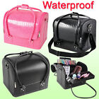 Professional Beauty Make Up Nail Tech Cosmetic Box Vanity Case Storage Bag