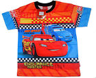 Disney Cars Kids Girls Boys T shirt Size S,M,L,XL age 2-10 #02 New Great Gift