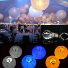 Three Color LED Battery Bulbs Lights For Paper Lanterns Wedding Party Decoration