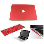 4in1 Rubberized Hard Case anti dust cover For New Macbook Air 13 Pro 13 15 2014
