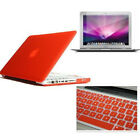 Rubberized Case for Macbook Pro13 A1425 A1502 / Pro15 A1398 Retina+Key Cover+LCD