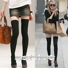 Hot Long Over The Knee Cotton Socks Thigh High Soft Cotton Stockings for Women