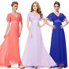 Ever Pretty 2015 New Long Evening Bridesmaid Party Formal Ball Gowns Dress 09890