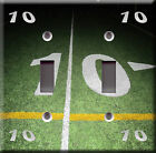 Light Switch Plate Cover - 10 yard line football field game - Sport champion