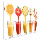 Fruit & Veg Smoothies Canvas Art Cheap Wall Print Picture Any Size