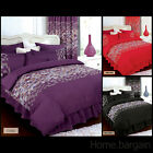 Belona Duvet Bed or Complete set Valance Sheet Pillow Cases Single Double King