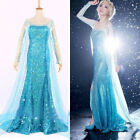 Купить  Hallow Frozen Queen Elsa Cosplay Dress Snow Cosplay Costume Adult Lady Size S-L с доставкой по россии и снг